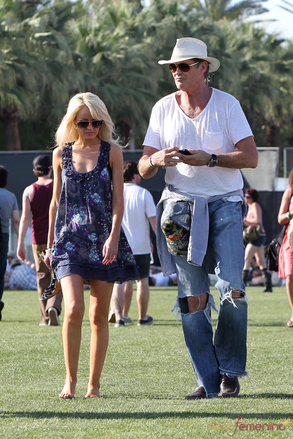 David Hasselhoff en el Festival de Coachella 2011