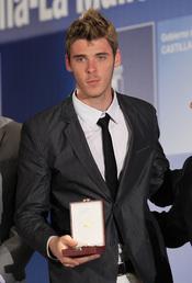 David de Gea recoge la medalla de oro al Mérito Deportivo de Castilla-La Mancha