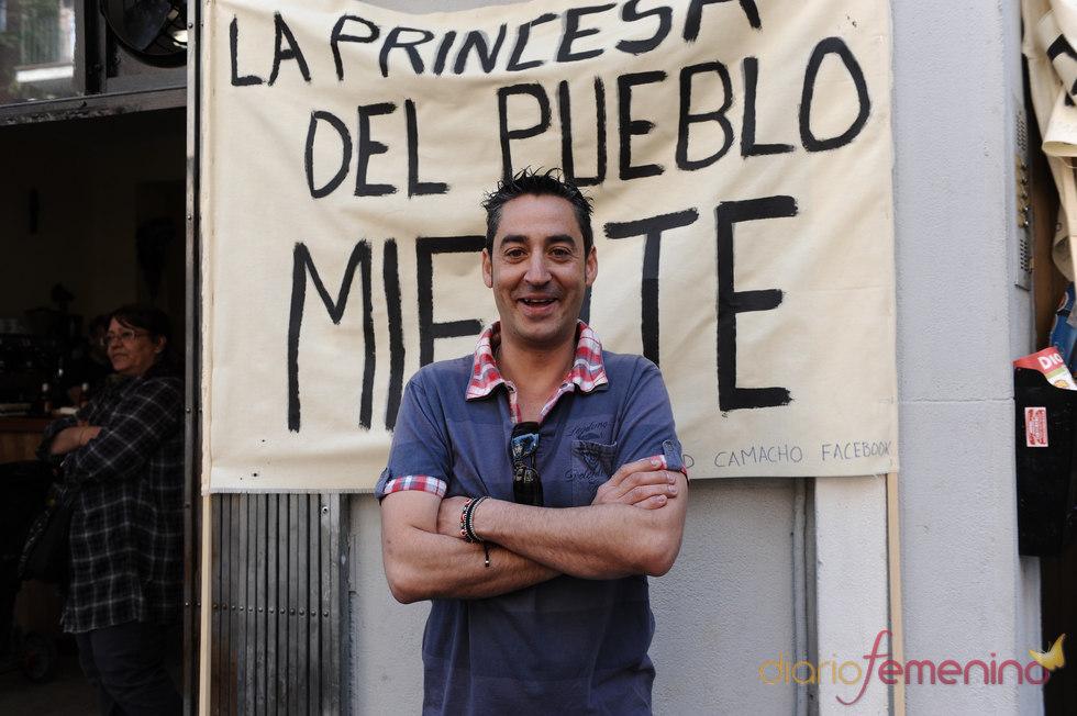 David Camacho se manifiesta contra Belén Esteban
