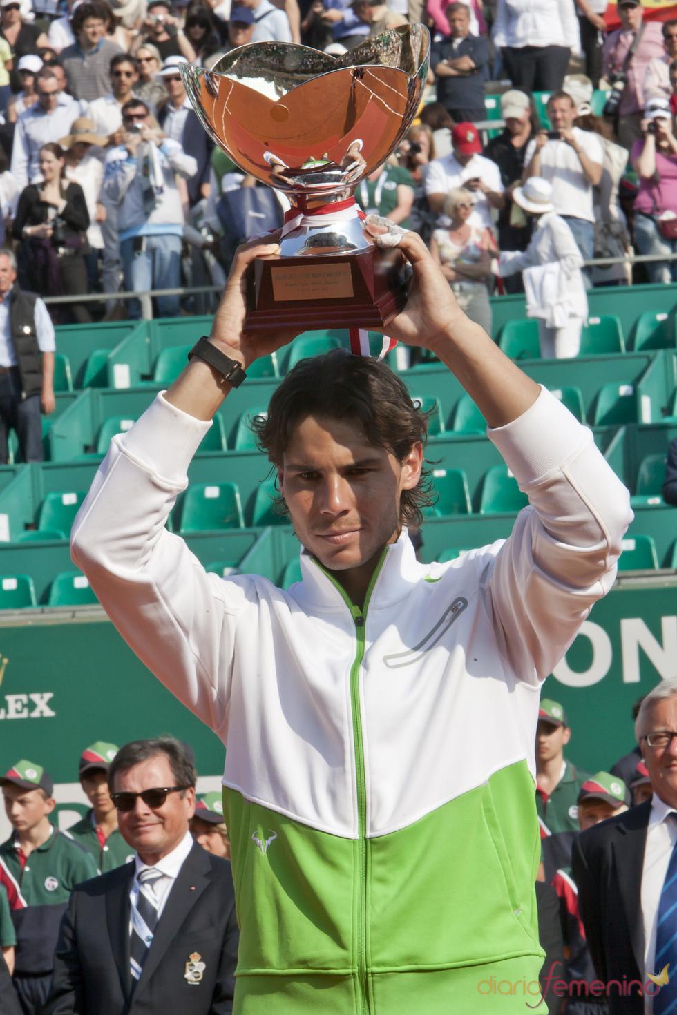 Rafa Nadal consigue por séptima vez el torneo de Montecarlo