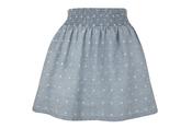 Falda de gomas azul de la colección de primavera 2011 de Blanco
