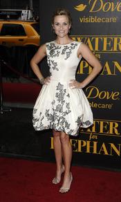 Reese Witherspoon en la premiere de 'Agua para elefantes'