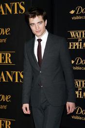 Robert Pattinson en el estreno de 'Agua para elefantes'