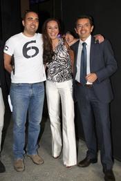 Rocío Carrasco y Fidel Albiac en la presentación de 'Nacidas para cantar'