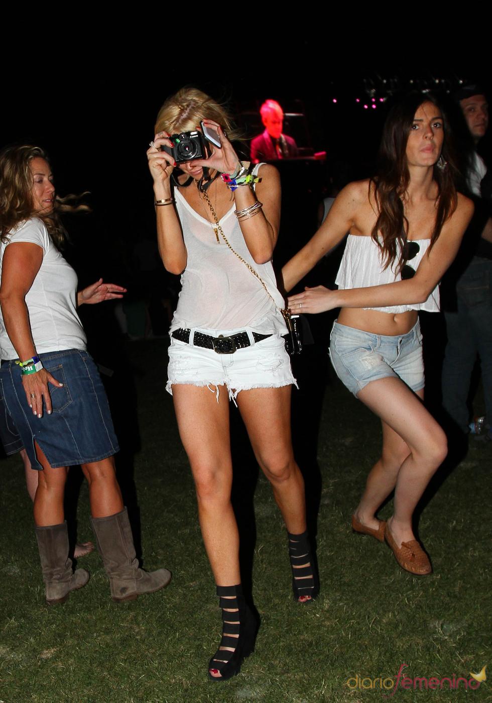 Lindsay Lohan en el Festival de música de Coachella