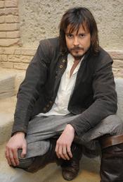 David Janer, muy sensual en 'Águila Roja'