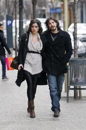 David Janer pasea con su novia