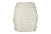 Falda blanca de la colección de primavera de Blanco 2011