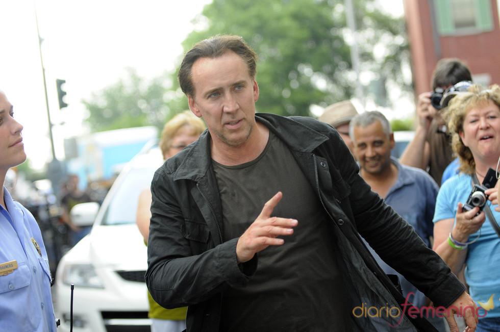 Nicolas Cage vuelve al trabajo tras ser arrestado
