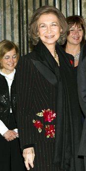 La Reina Sofía preside un concierto benéfico en la Catedral de Palma de Mallorca