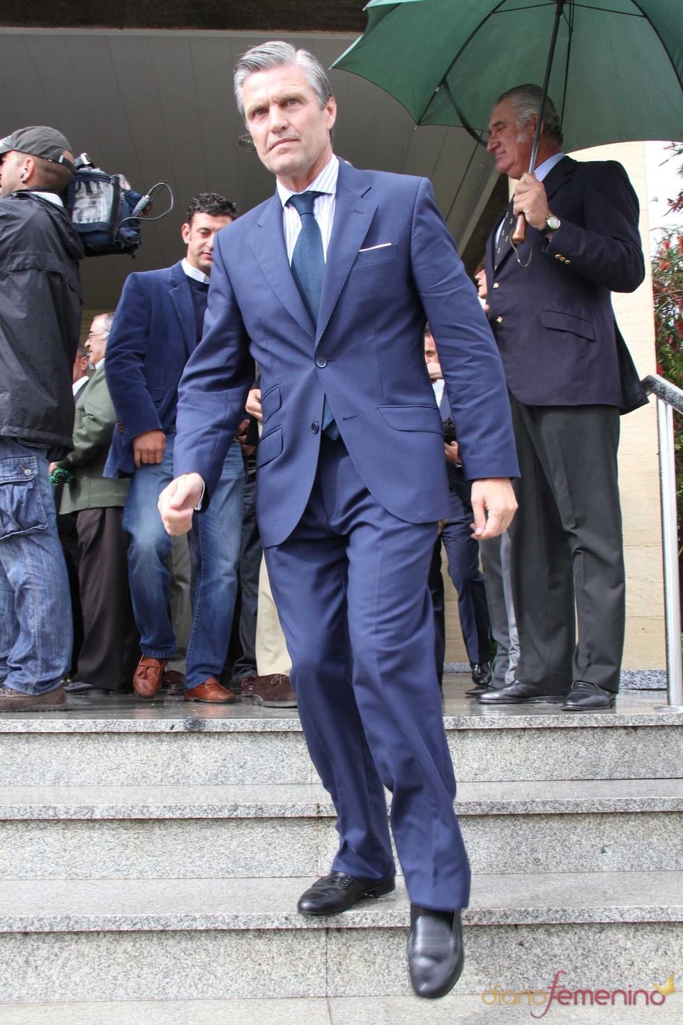 Espartaco en el funeral de Juan Pedro Domecq