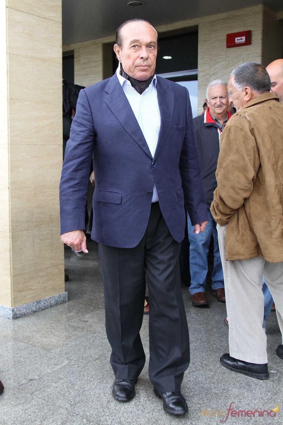 Curro Romero en el funeral de Juan Pedro Domecq