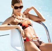 Bikini de flores de la colección verano 2011 de Goldenpoint