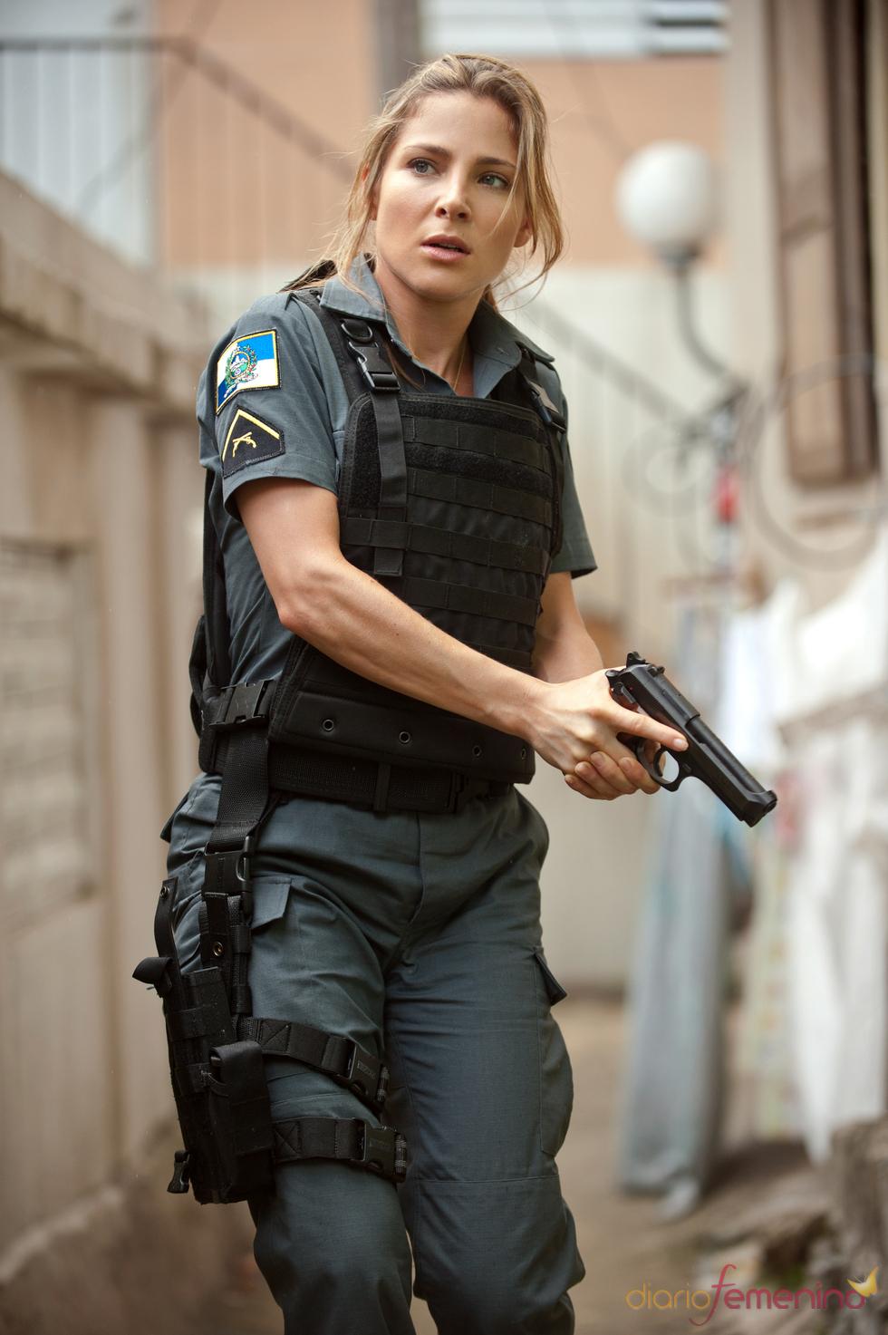 Elsa Pataky en la piel de una agente brasileña en 'Fast Five'