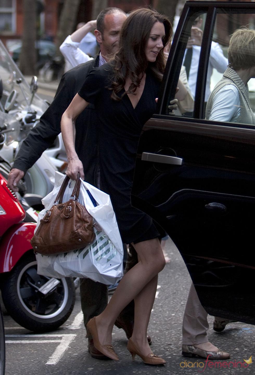 Kate Middleton se va de 'shopping' antes de su boda
