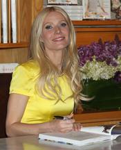Gwyneth Paltrow presenta su libro de cocina en Los Ángeles