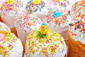 Dulces del día de Pascua