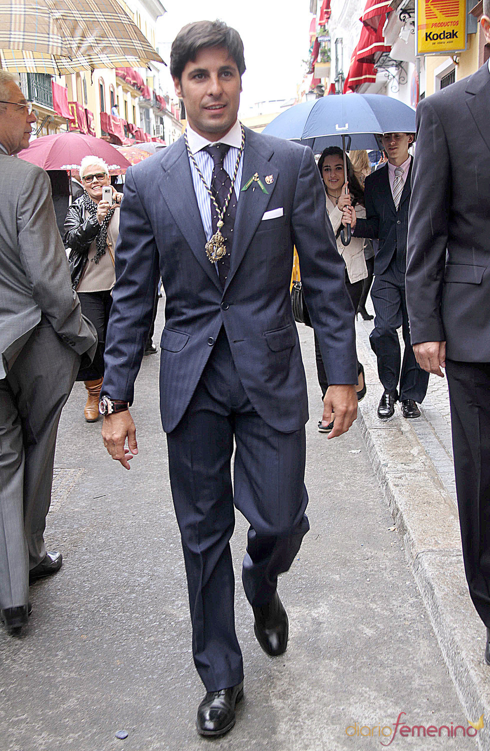 Francisco Rivera pasa su Semana Santa 2011 en Sevilla