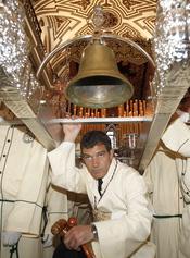 Antonio Banderas, 'Nazareno' en la Semana Santa de Málaga