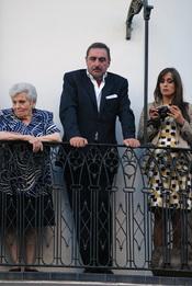 Carlos Herrera disfruta de la Semana Santa en Sevilla