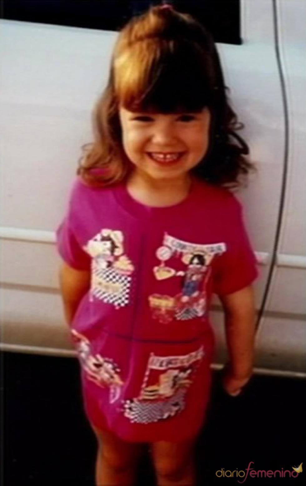 Demi Lovato, derrochando dulzura de pequeña