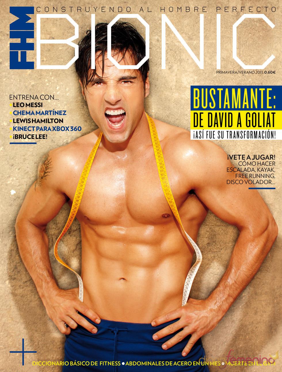 David Bustamante, portada de la revista 'Bionic'