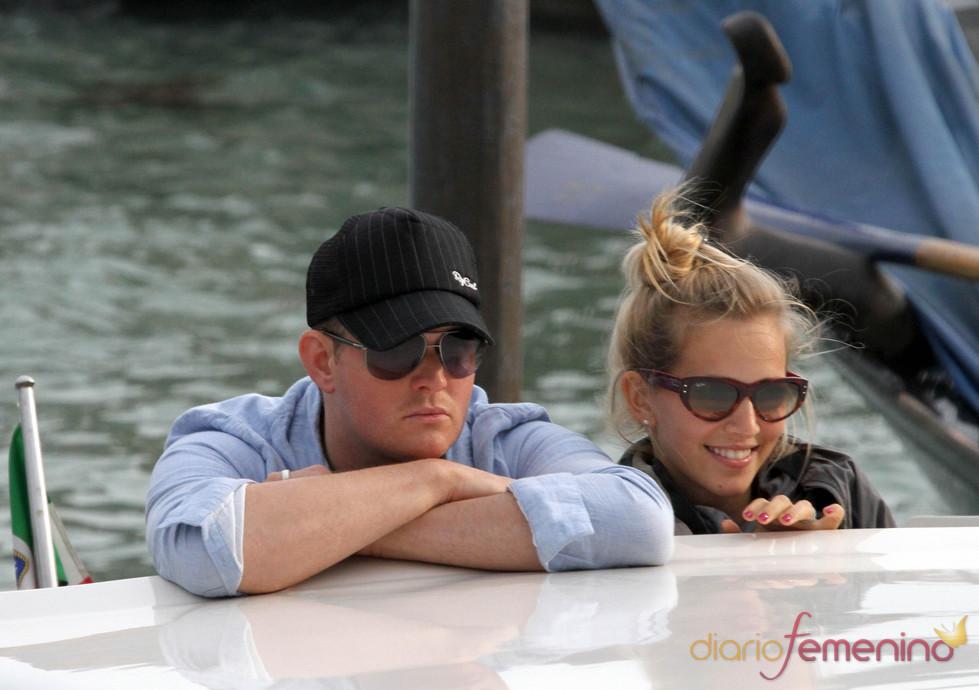 Luna de miel de Michael Bublé y Luisana Lopilato en Venecia