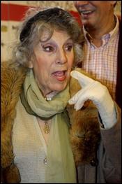 María Isbert posa para los premios de la Unión de Actores