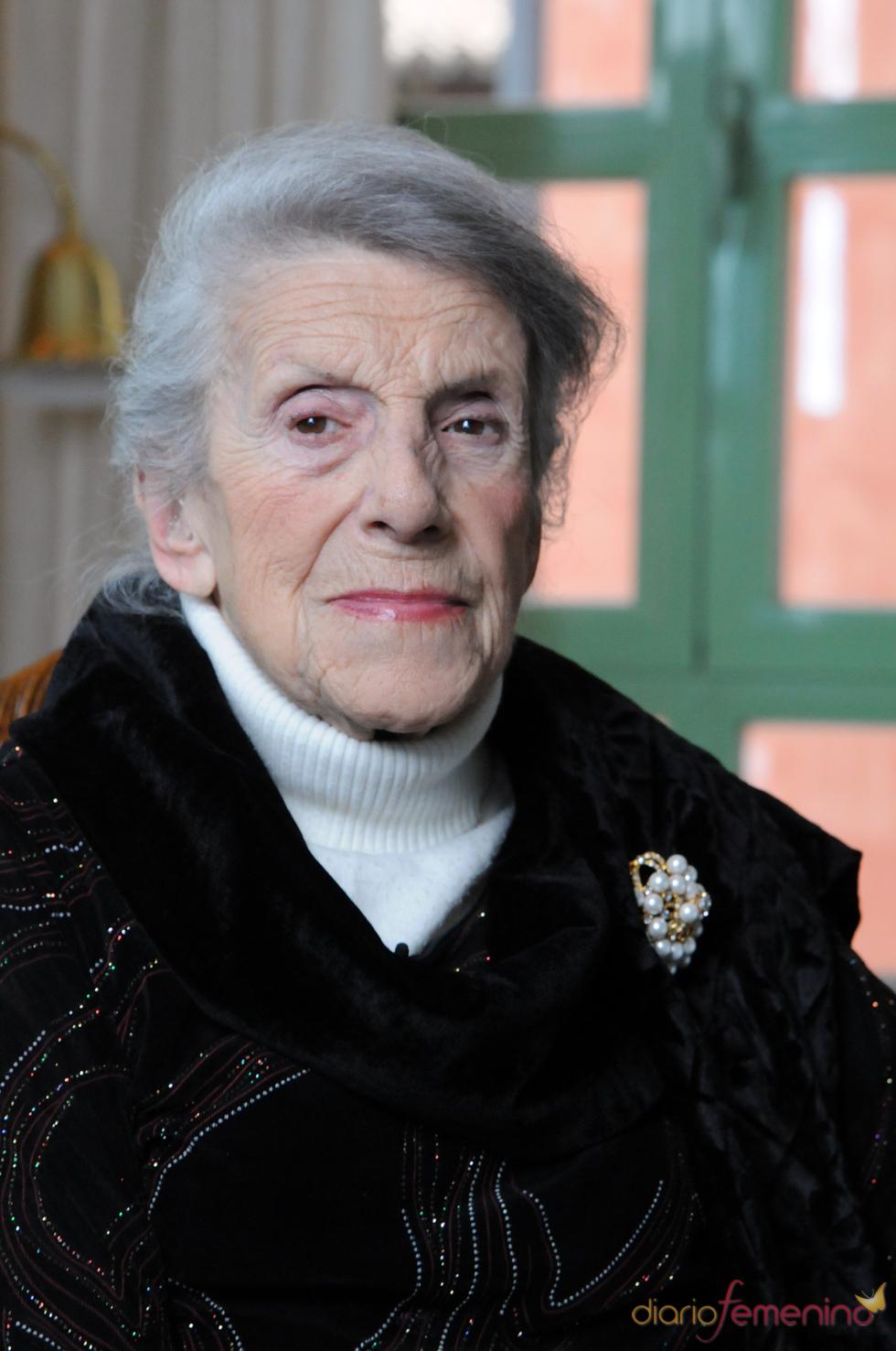 Retrato de la actriz María Isbert