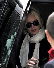 Lindsay Lohan llega a los juzgados