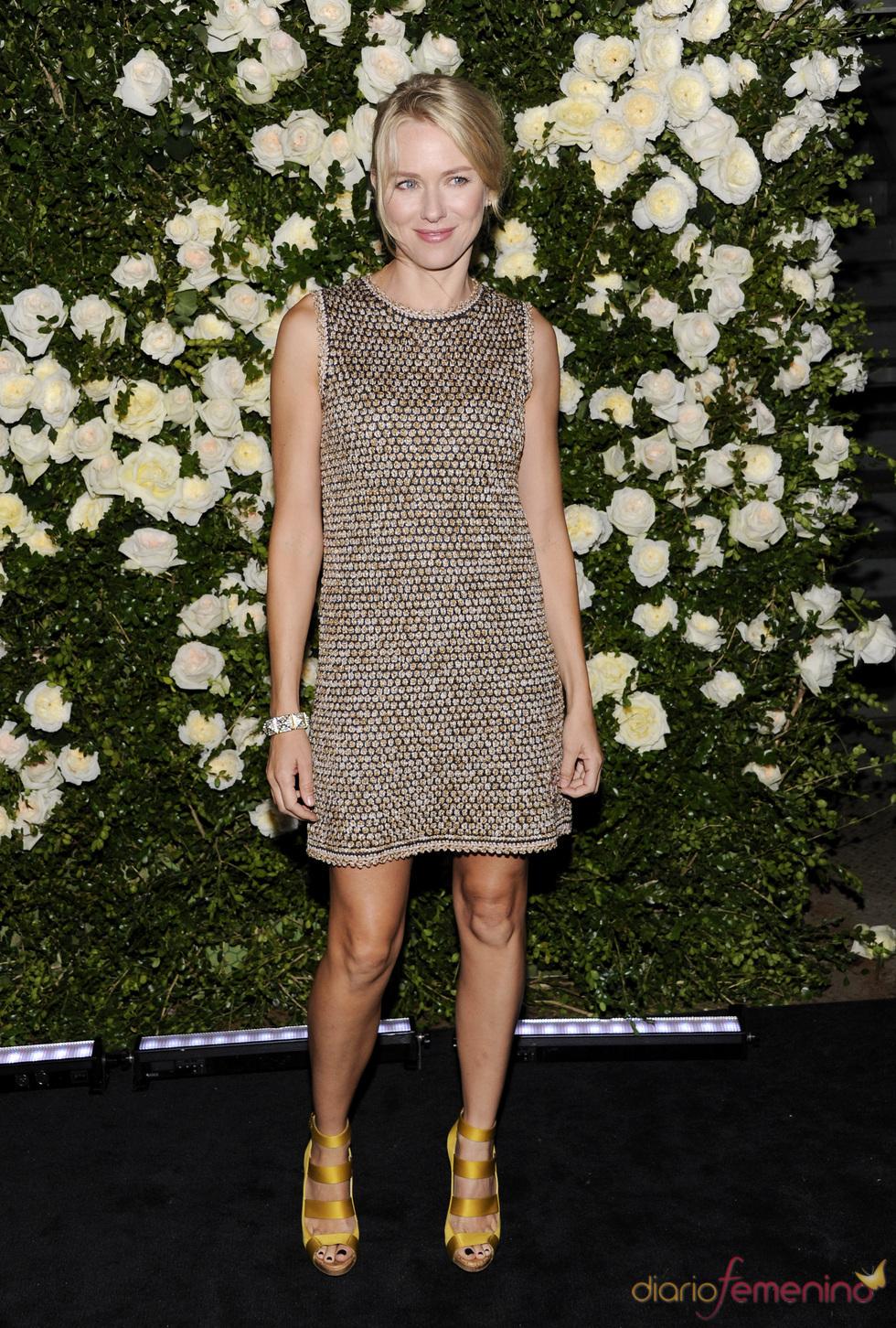 Naomi Watts en una cena organizada por Chanel en Nueva York