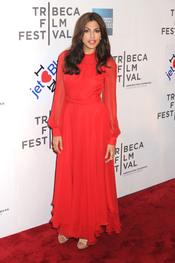 Eva Mendes presenta 'Last night' en el Festival de Tribeca