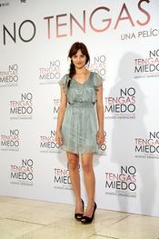 Michelle Jenner en la presentación de 'No tengas miedo'