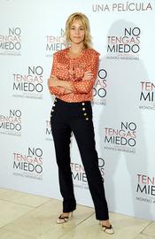 Belén Rueda en la presentación de 'No tengas miedo'