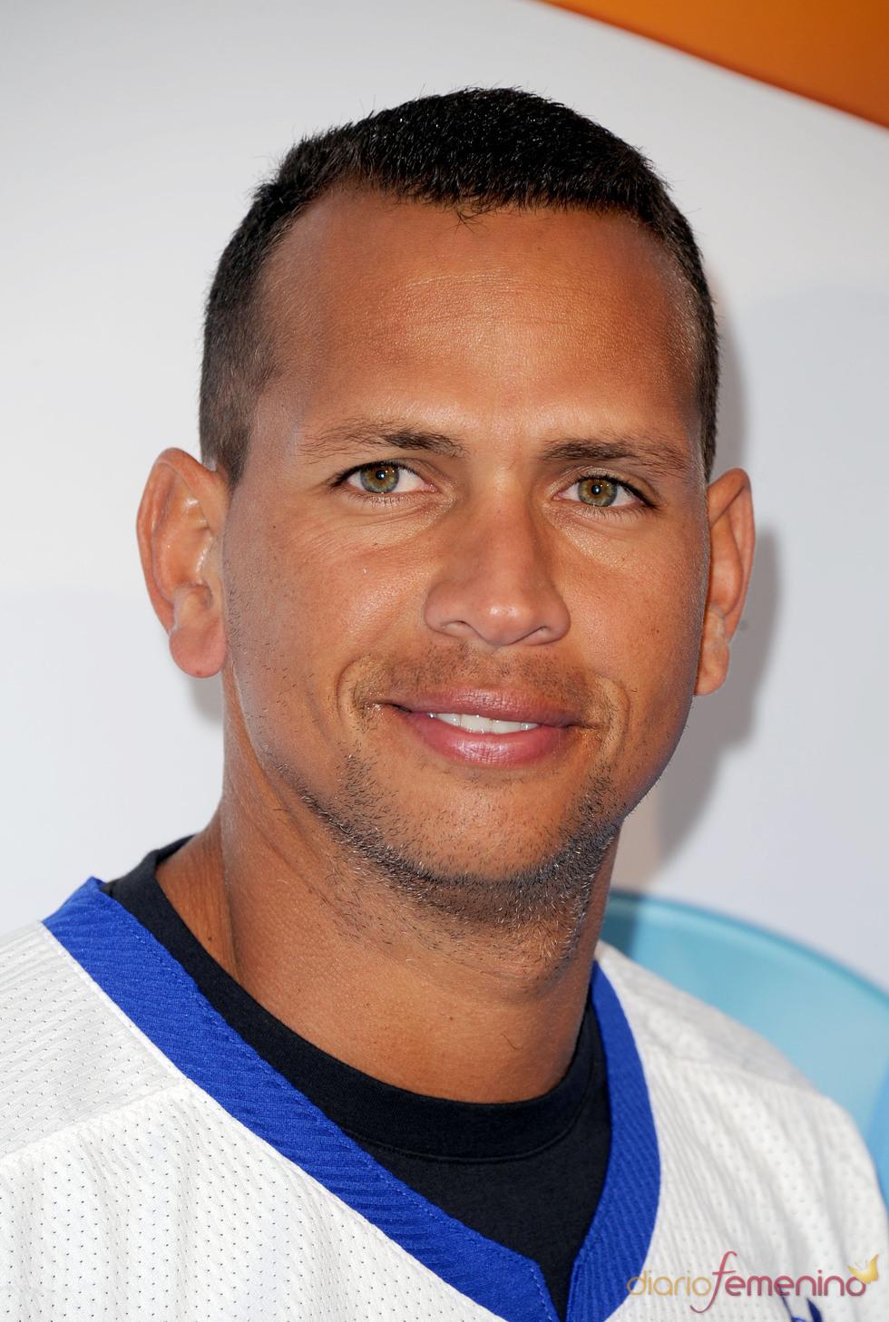 El jugador de béisbol Álex Rodríguez
