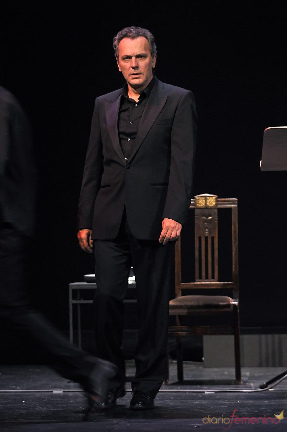 El actor José Coronado actuando