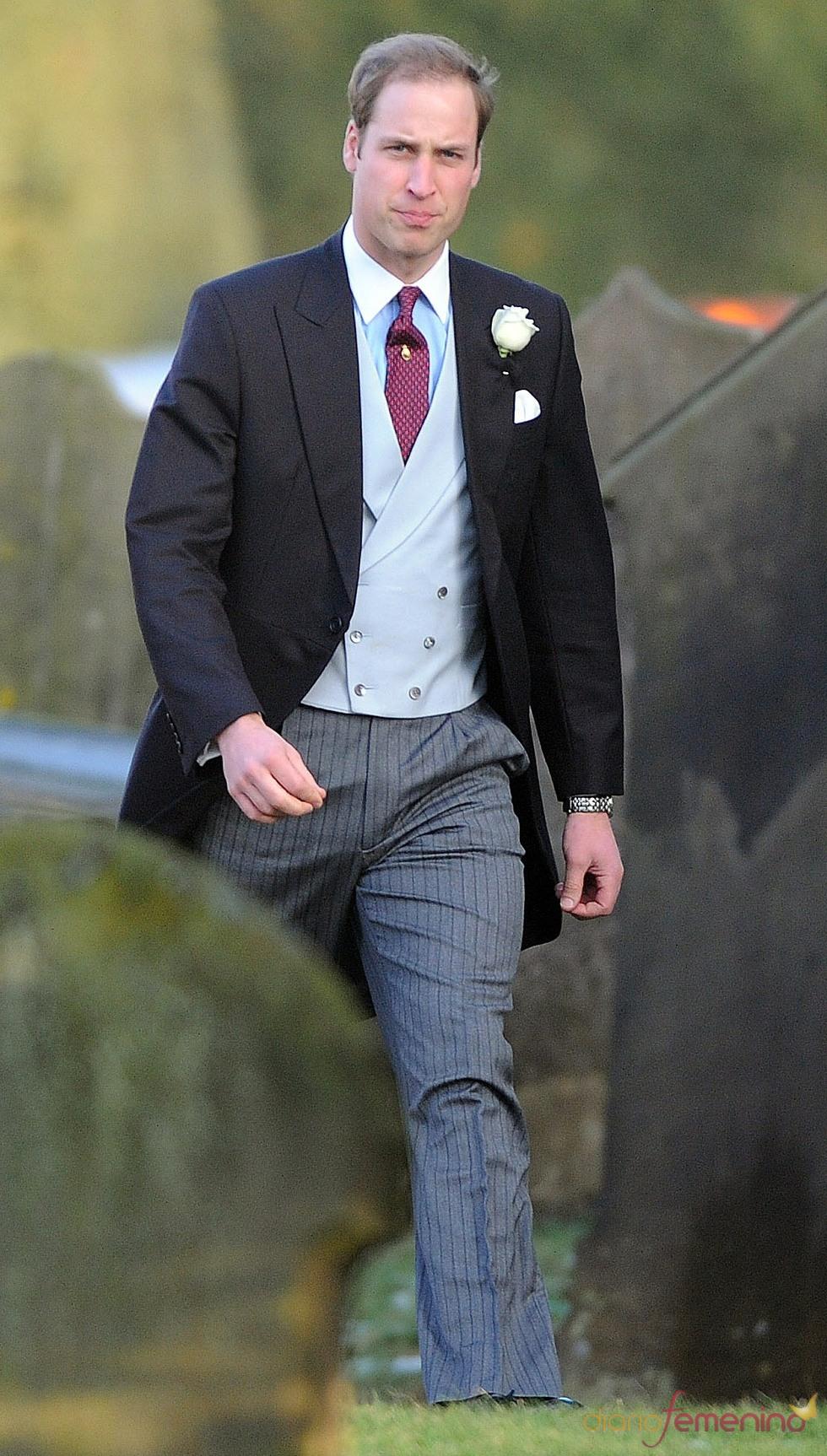 Guillermo de Inglaterra, muy guapo de boda