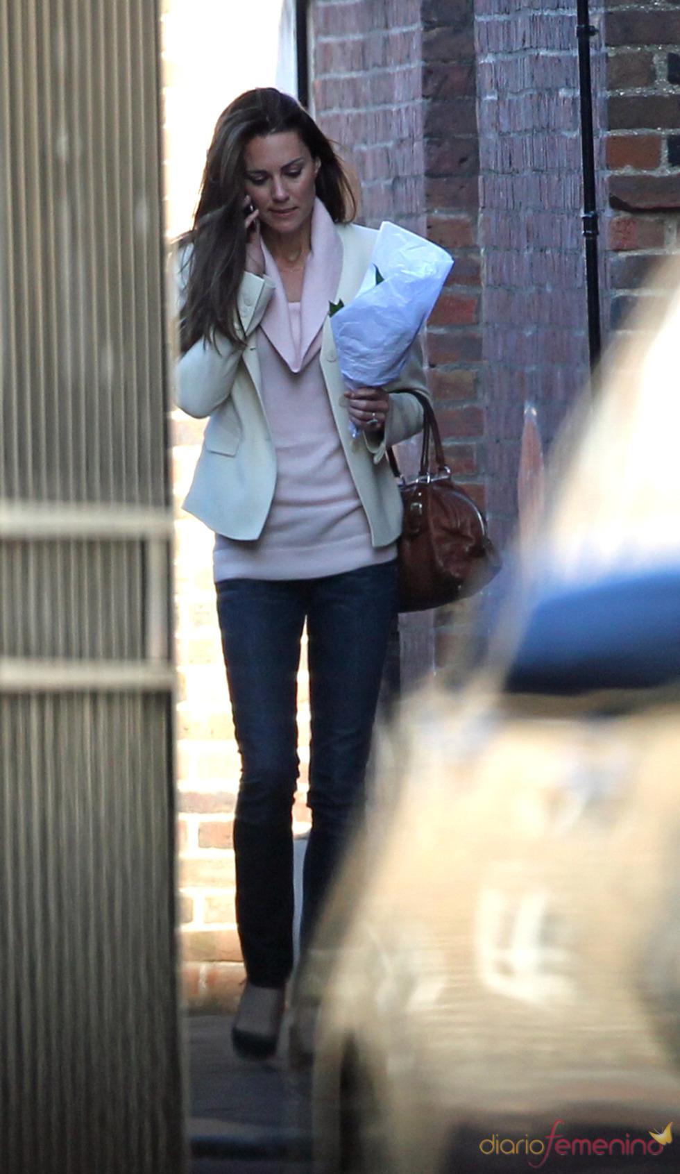 Kate Middleton ultimando los detalles de la boda