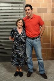Amparo Valle y Pablo Chiapella en la quinta temporada de 'La que se avecina'