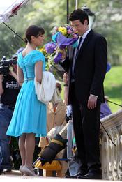 'Glee', rodaje en Central Park