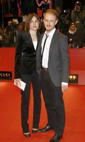 Ben Foster y Antje Traue en el Festival de Cine de Berlín 2009