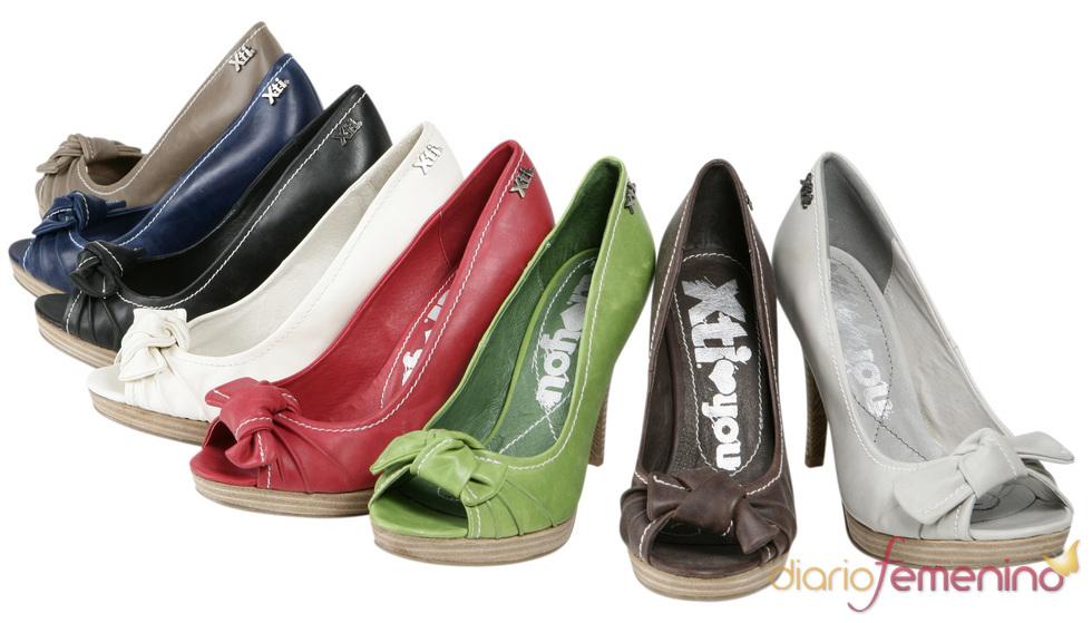 Colección Xti de zapatos 'peep toe' para la primavera/verano 2011