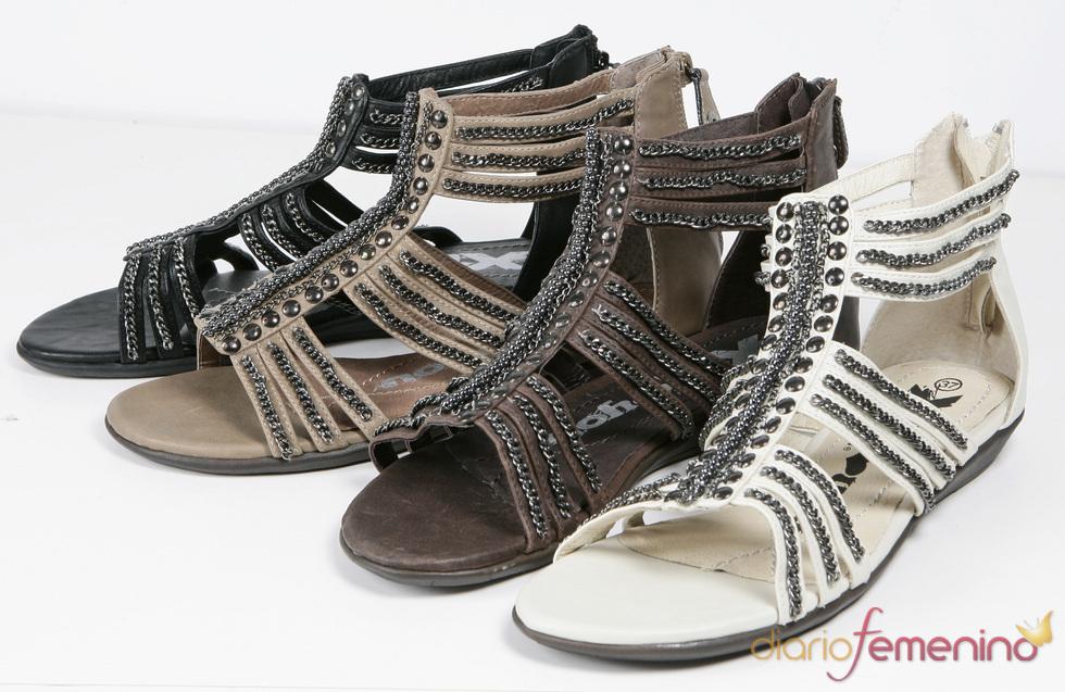 Colección Xti de sandalias estilo romanos para la primavera/verano 2011