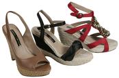Colección Lorena Carreras de sandalias para la primavera/verano 2011