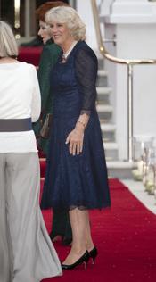 Camilla Parker Bowles en la cena pre-boda real de Inglaterra