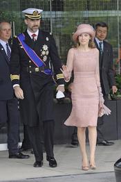 Los Príncipes Felipe y Letizia se dirigen a la Abadía de Westminster