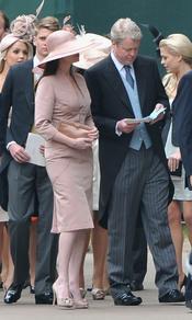 Earl Charles Spencer, hermano de Lady Di, llega a la Abadía de Westminster