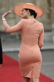 Vestido de Victoria de Suecia en la Boda Real de Inglaterra