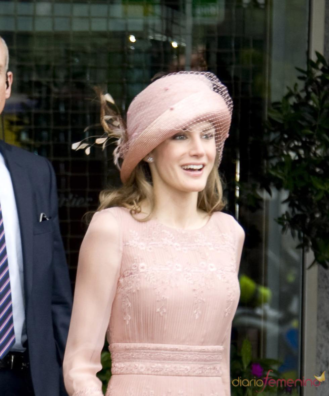 Pamela de la Princesa Letizia en la Boda Real de Inglaterra
