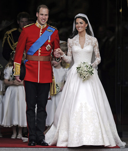 Kate Middleton, perfecta el día de su boda